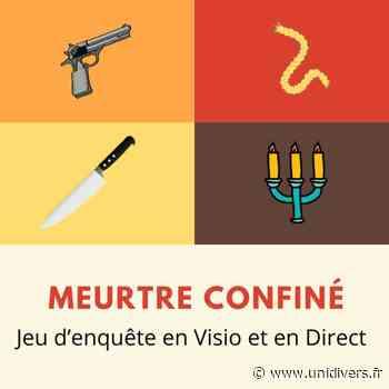 L'Université d'Evry vous propose de participer à un Cluedo théâtre « Meutre en confinement »en direct live ! En ligne 19 mai 2020 - Unidivers
