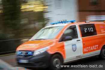 Motorradfahrer schwer verletzt - Westfalen-Blatt