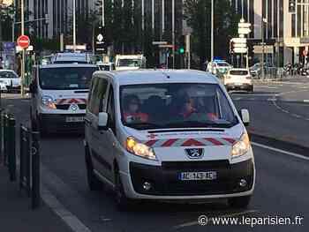 A Suresnes, un défilé et des klaxons pour rendre hommage au service public - Le Parisien