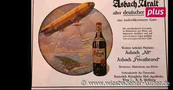 Werbung aus Rüdesheim: Waffenbrüder trinken Asbach - Wiesbadener Kurier