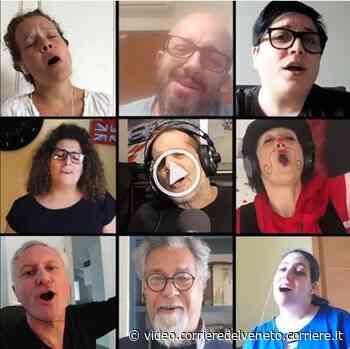 """""""Come prima"""", Mogliano Veneto canta la canzone della ripartenza video - Corriere della Sera"""
