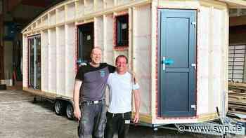 Tiny House aus Rosengarten-Uttenhofen: Aus diesen Teilen entstehen die kleinen Wohnungen - SWP