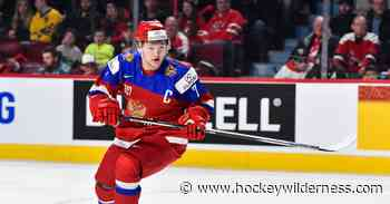 You probably won't see Kirill Kaprizov in a Wild sweater until 2020-21