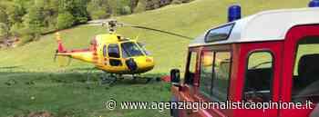 VVF RIVA DEL GARDA (TN) * Baita Segala - comune Limone sul Garda (BS): « RECUPERato deceduto il conducente dell'auto uscita fuori strada » (VIDEO INTERVENTO ELICOTTERO) - agenzia giornalistica opinione