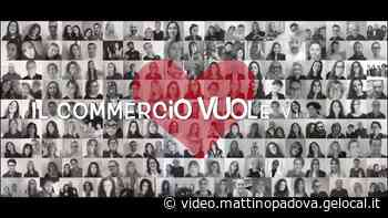 Piove di Sacco, i commercianti in un video artistico si preparano a ripartire - il mattino di Padova
