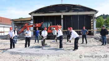 Feuerwache in Gaildorf: Bauarbeiten starten - SWP