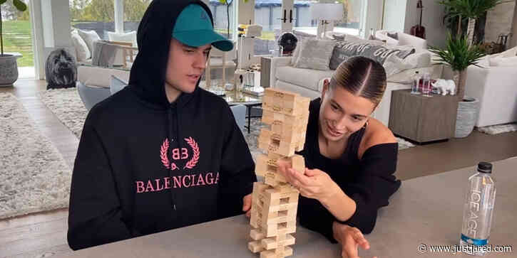 Justin & Hailey Bieber Talk About His Cancelled Tour During New 'Biebers on Watch' Facebook Episode