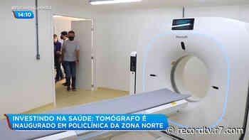 Policlínica de Del Castilho ganha tomógrafo para diagnóstico da covid-19 - R7