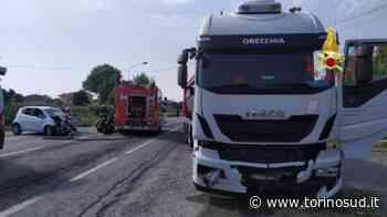 INCIDENTE MORTALE - 66enne di Orbassano muore nello scontro con un camion ad Alice Castello - TorinoSud