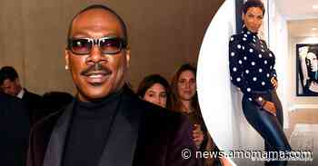 Eddie Murphy's Ex-wife Niki Looks Amazing at 52 in Dotted Turtle Neck and Skintight Leather Pants - AmoMama