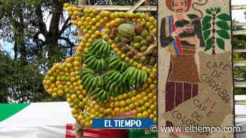El pueblo en el que construyen figuras a gran escala con frutas - ElTiempo.com