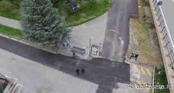 Controlli Covid-19, il drone dei Carabinieri sull'area verde di Gressan - Aostasera - AostaSera