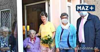 Durchhalten in der Corona-Krise - Die Stadt Wittstock überrascht Senioren mit Sonntagskonzerten - Märkische Allgemeine Zeitung