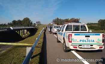 Motociclista perdió la vida en Ruta Interbalnearia cerca de Pan de Azúcar - maldonadonoticias.com
