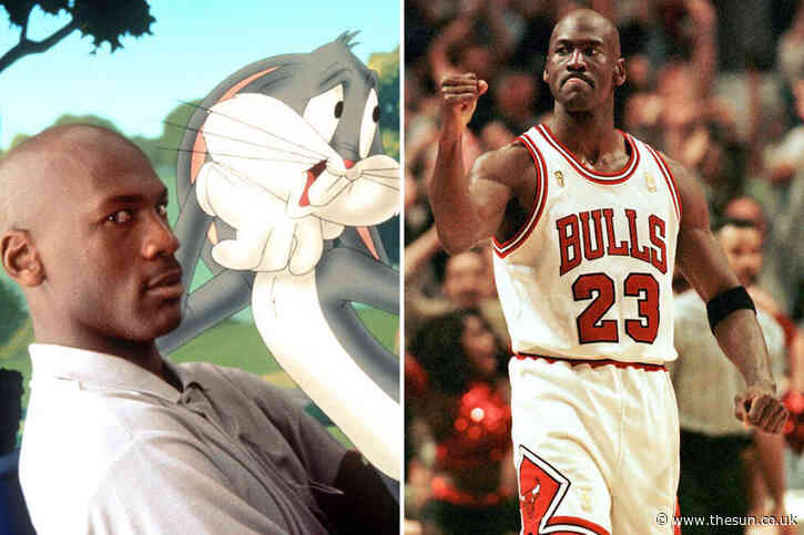 Michael Jordan trained like a 'vampire' while making Space Jam with gruelling days filming and working out