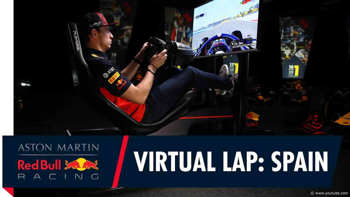 @Citrix Virtual Lap: Max Verstappen at the Spanish Grand Prix