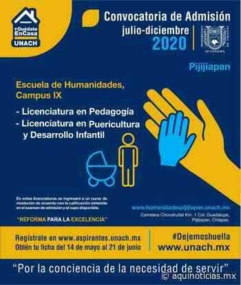 En Pijijiapan, Unach oferta Puericultura y Desarrollo Infantil - Aquí Noticias