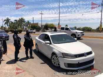 130 detenidos por faltas en operativo COVID-19 en Navolato - Sinaloahoy