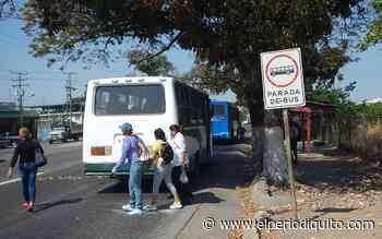 Diario El Periodiquito - Habitantes de Palo Negro sufren por transporte - El Periodiquito