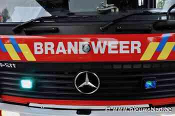 Brand in dakappartement slaat over naar het terras - Het Nieuwsblad