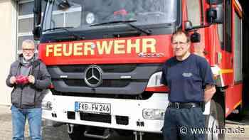 Die Frankenberger Feuerwehr hält Abstand, so weit es geht | Frankenberg (Eder) - HNA.de