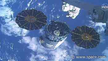 Cygnus cargo ship leaves space station for free-flying fire mission