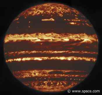 Scientists get their best-ever look at Jupiter's atmosphere and storms