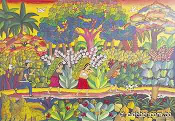 Arte pictórico de Urubichá se exhibe en 'Celebración' | EL DEBER - EL DEBER