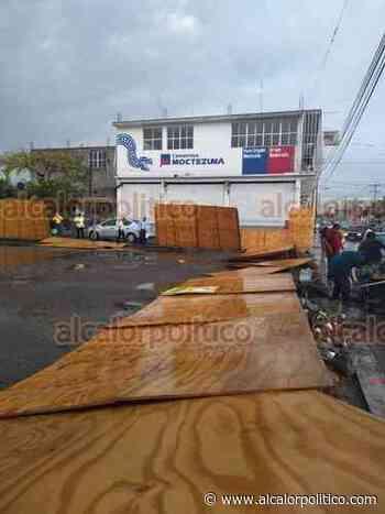 Tromba causa destrozos en Paso del Macho, este sábado - alcalorpolitico