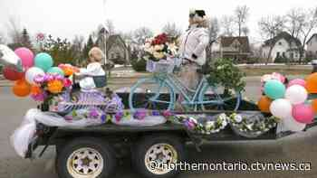Iroquois Falls grandmother creates festive float for Mother's Day - CTV News