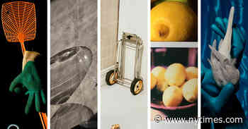 Still Life With Fly Swatter, or Hourglass, or Lemons
