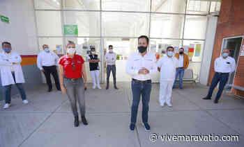 Supervisan trabajos y atención en el Hospital General de Ciudad Hidalgo - Vive Maravatio