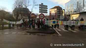 Saint-Laurent-Blangy : un rassemblement en souvenir d'Élise Tittelein, morte renversée par une voiture il y a - La Voix du Nord