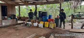 Ejército destruyó laboratorio de coca en zona rural de Mapiripán, Meta - Diario La Libertad