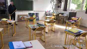 Vimy : préparation d'un retour en classe pas comme les autres - La Voix du Nord