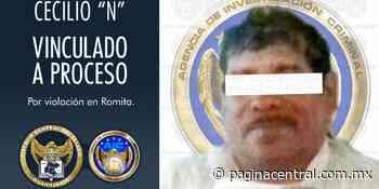 Vinculan a proceso a presunto violador de menor en Romita - Página Central
