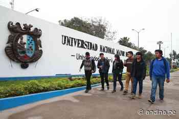 San Marcos: cómo batallan estudiantes y egresados para detener al Covid-19 - Agencia Andina