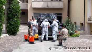 Vobarno Bagolino Gavardo Valsabbia - Militari per la sanificazione delle Rsa - Valle Sabbia News