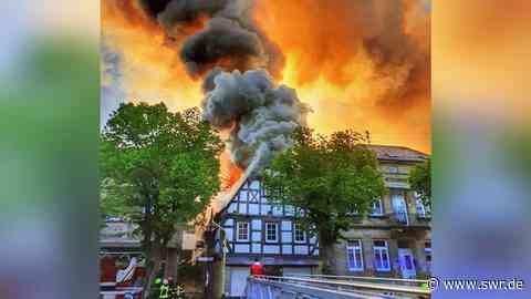 Toter nach Brand in Fachwerkhaus in Kirn | Mainz | SWR Aktuell Rheinland-Pfalz | SWR Aktuell - SWR