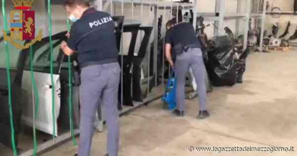 Cerignola, nei box 1500 pezzi di auto rubate, da sportelli a motori: sequestri e 2 denunce - La Gazzetta del Mezzogiorno