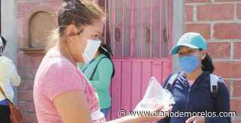 Reparten 15 mil cubrebocas en Tepalcingo - Diario de Morelos