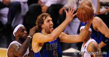 Butler über den Titel mit Dallas Mavericks, Dirk Nowitzki und LeBron James - SPORT1