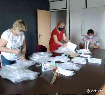 À Gaillon (Eure), la distribution des masques aux habitants va s'étaler sur sept semaines - Normandie Actu