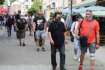 Proteste gegen Corona-Auflagen in Crimmitschau und Meerane - Freie Presse
