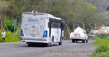 Choferes de autobuses, ponen en peligro a pasajeros en Naranjos - Vanguardia de Veracruz