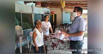 Llega apoyo alimenticio a más zonas de Naranjos Amatlán - La Opinión