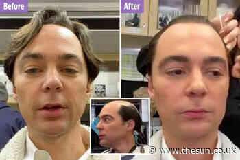 The Big Bang Theory's Jim Parsons shows off dramatic hair transformation for Netflix's Hollywood - The Sun