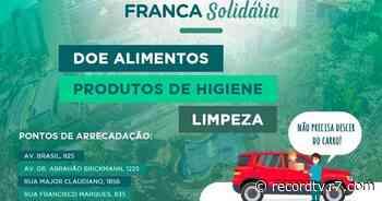 """Record TV Interior lança campanha """"Franca Solidária"""" - Sudeste - R7 Record TV Interior SP - R7"""