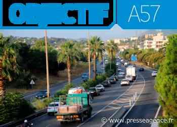 CUERS : Élargissement de l'A57, phasage et organisation des travaux - La lettre économique et politique de PACA - Presse Agence