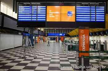 Fluxo de passageiros no aeroporto de Congonhas reduziu 45,12% em março - Folha de S.Paulo